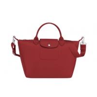 德国直邮 珑骧Longchamp手提包 短柄中号 红色 LE PLIAGE NE...