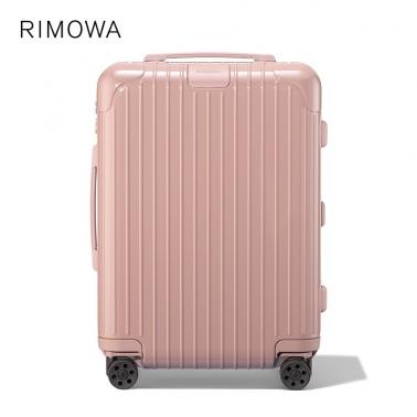 德国直邮 RIMOWA日默瓦 ESSENTIAL Cabin 21寸/36L 沙漠玫瑰粉 登机箱 行李箱拉杆箱 2020新款 83253904
