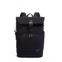 TUMI/途明Harrison系列同款时尚卷顶男士休闲双肩背包 黑色/06602...