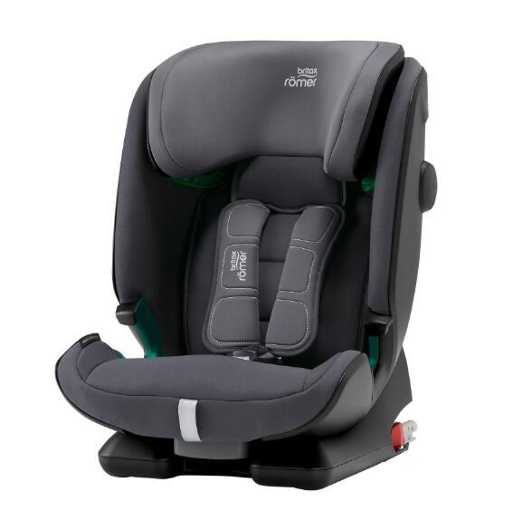 德国直邮 百代适Britax Römer Advansafix i-Size storm grey 德国进口汽车儿童安全座椅 百变骑士 第四代 风暴灰 9个月-12岁