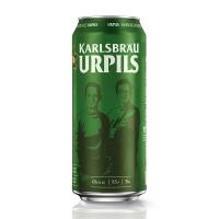 保税直发 德国KARLSBRAU 卡斯布鲁经典皮尔森啤酒 500ml×24