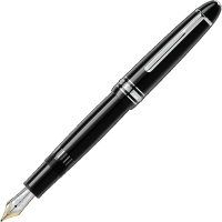 MONTBLANC 万宝龙墨水笔大班系列146系列墨水笔钢笔 豪华款 镀铂金色 ...