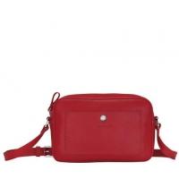 德国直邮 珑骧Longchamp 斜挎包 红色 10091021545