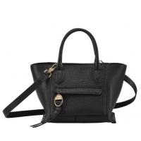 德国直邮 珑骧Longchamp 手提包 黑色 小号 10103HTA001