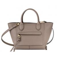德国直邮 珑骧Longchamp 手提包 棕色 中号 10104HTA015