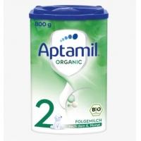 德国直邮 爱他美Aptamil bio 有机婴幼儿奶粉 2段 6-12个月